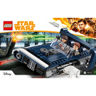 LEGO Han Solo's Landspeeder Set 75209 Instructions