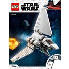 LEGO Imperial Shuttle Set 75302 Instructions
