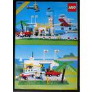 LEGO International Jetport Set 6396 Instructions