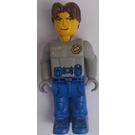 LEGO Jack Stone with Light Gray Rescue Jacket Minifigure