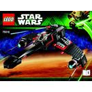 LEGO JEK-14's Stealth Starfighter Set 75018 Instructions