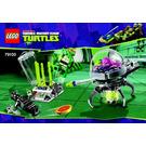 LEGO Kraang Lab Escape Set 79100 Instructions