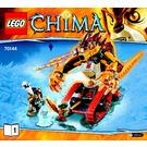 LEGO Laval's Fire Lion Set 70144 Instructions