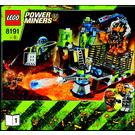 LEGO Lavatraz Set 8191 Instructions