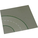 LEGO Baseplate 32 x 32 Road 9-Stud Curve with Road