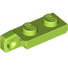 LEGO Hinge Plate 1 x 2 Locking with Single Finger on End Vertical with Bottom Groove (44301 / 49715)