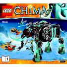 LEGO Maula's Ice Mammoth Stomper Set 70145 Instructions