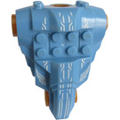 LEGO Torso for large articulated figure with Jayko pattern