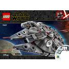 LEGO Millennium Falcon Set 75257 Instructions