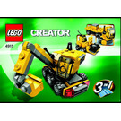LEGO Mini Construction Set 4915 Instructions