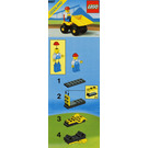 LEGO Mini Dumper Set 6507 Instructions