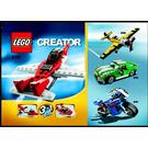 LEGO Mini Jet Set 6741 Instructions