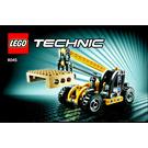 LEGO Mini Telehandler Set 8045 Instructions