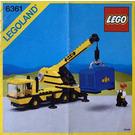 LEGO Mobile Crane Set 6361 Instructions
