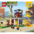 LEGO Modular Skate House Set 31081 Instructions