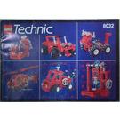 LEGO Multi Functional Starter Set 8032 Instructions