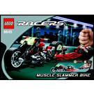 LEGO Muscle Slammer Bike Set 8645 Instructions