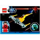 LEGO Naboo Starfighter & Naboo Set 9674 Instructions