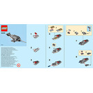 LEGO Narwhal Set 40239 Instructions