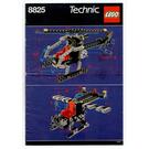 LEGO Night Chopper Set 8825 Instructions