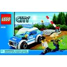 LEGO Patrol Car Set 4436 Instructions