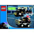 LEGO Police 4WD and Undercover Van Set 7032 Instructions