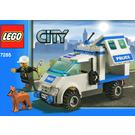 LEGO Police Dog Unit Set 7285 Instructions