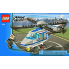 LEGO Police Helicopter Set 7741 Instructions