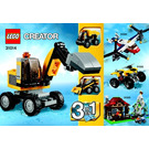 LEGO Power Digger Set 31014 Instructions