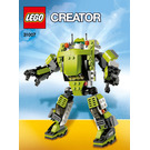 LEGO Power Mech Set 31007 Instructions