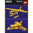 LEGO Prop Plane Set 8855 Instructions