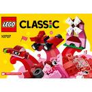 LEGO Red Creative Box Set 10707 Instructions