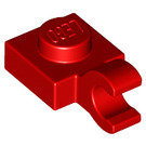LEGO Plate 1 x 1 with Horizontal Clip (Thick Open 'O' Clip) (52738 / 61252)