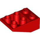 LEGO Slope 2 x 3 (25°) Inverted without Connections between Studs (3747)