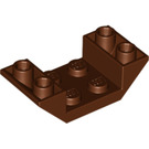 LEGO Slope 2 x 4 (45°) Double Inverted with Open Center (4871)