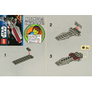 LEGO Republic Attack Cruiser Set 30053 Instructions