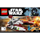 LEGO Republic Fighter Tank Set 75182 Instructions