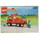 LEGO Rescue Rig Set 6670 Instructions