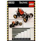 LEGO Roadster Set 8832 Instructions