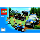 LEGO Robbers' Hideout Set 4438 Instructions