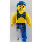 LEGO Scurvy Dog, wooden leg - 4 Juniors Pirate Minifigure