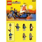 LEGO Sea Serpent Set 6057 Instructions