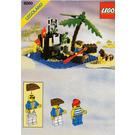 LEGO Shipwreck Island Set 6260 Instructions