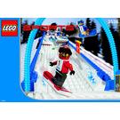 LEGO Snowboard Boarder Cross Race Set 3538 Instructions