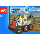 LEGO Space Moon Buggy Set 3365 Instructions