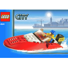 LEGO Speedboat Set 4641 Instructions