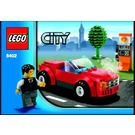 LEGO Sports Car Set 8402 Instructions