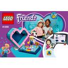 LEGO Stephanie's Heart Box Set 41356 Instructions