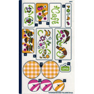 LEGO Sticker Sheet for Set 41444 (72754)