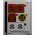 LEGO Sticker Sheet for Set 70665 (46370)